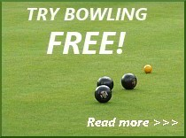 Brentwood Bowling Club Free Trial Offer for new bowlers