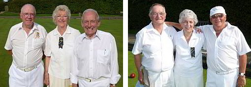 Brentwood Bowling Club - Finalists in the Ted Hasler Trophy 2012