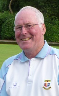 Les Powell of Brentwood Bowling Club