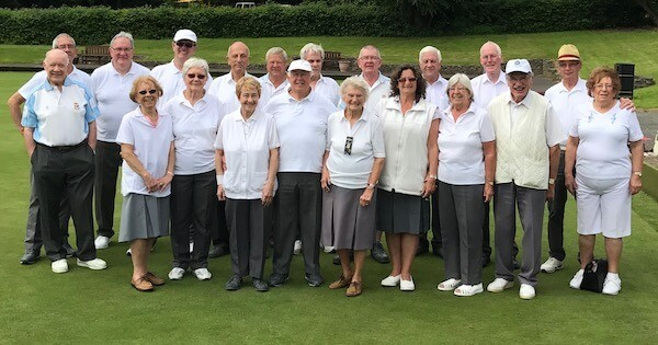 Image of players who supported the Tuesday morning drive at Brentwood Bowling Club on 23rd May 2017.