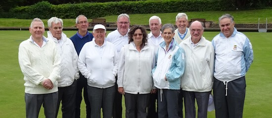 Brentwood Bowling Club members who supported the Tuesday spoon drive on 9th May.