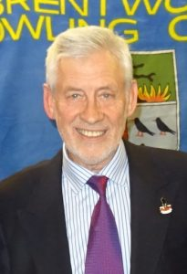 Fred Wasmuth, men's captain of Brentwood Bowling Club