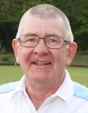 Brentwood Bowling Club vice-captain Trevor Pedley